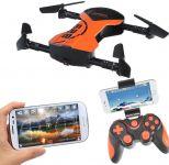 SKLÁDACÍ DRON DREAM FLY 25,5cm MASTER PRO 2ks baterie navíc!