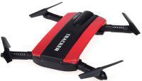 SKLÁDACÍ DRON GYRO TRACKER 16cm EVOLUTION PRO + sada 4ks baterií, nabíječka USB, červený