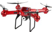 XXL DRON L5 55cm s HD kamerou- barometrem-15minut letu, červený