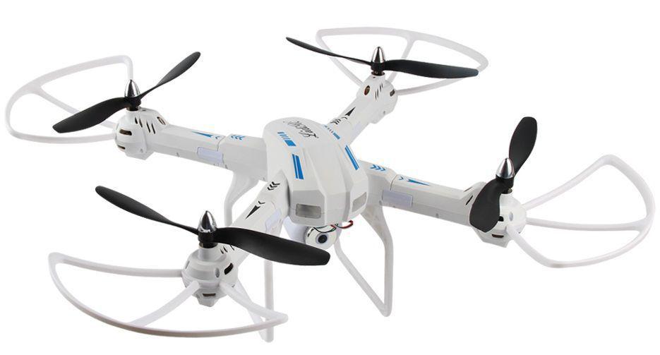 Dron L5 s HD kamerou- barometrem-tlačítkem návrat-EVOLUTION PRO prodloužená  doba letu se sadou 4 baterií až 70 minut! bílý RCskladem 9ed14f65b7