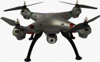 Koome K800 52cm nejhezčí dron na trhu s HD kamerou bez barometru, stříbrný