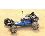 L959 super rychlá závodní bugina i do off roadu! modrá