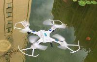 TRACKER Odolný dron 34cm s HD kamerou, bílý