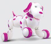 RC Robot Dalmatin s neuvěřitelným množstvím funkcí, růžový
