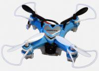 HAWK EYE Selfie dron 6,5cm s kamerou - létající kamera do kapsy, modrý