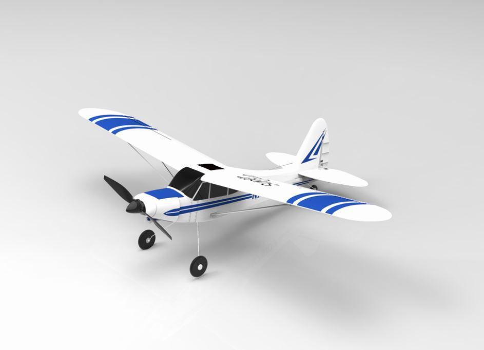 RCskladem, RCdarky, RC modely letadel, RC letadla, Volantex, Super Cub 500