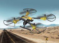 Supersilný dron SKY WARRIOR K70 s náklápěcí HD kamerou, žlutý