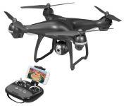 Dron S-Series S70W nyní exkluzivně s GPS a živým přenosem obrazu do mobilu!!! šedý