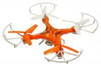 Dron Voyager 29cm s třílistými vrtulemi a kamerou, oranžový