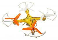 Dron Voyager 29cm s třílistými vrtulemi, kamerou MASTER PRO 2 baterie navíc! žlutý