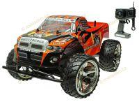 Big King-Run Offroad, Monster Truck 1:10, 42cm, excelentní v terénu, červený