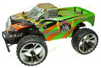 Big King-Run Offroad, Monster Truck 1:10, 42cm, excelentní v terénu, zelený