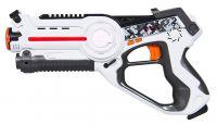 Akční Laser Blaster s robotickým Hex broukem na zasahování