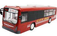 RC Autobus 33cm 2,4 GHz s otvíracími dveřmi, červený
