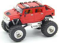 Závodní RC Mini Hummer 1:43 27Mhz červený