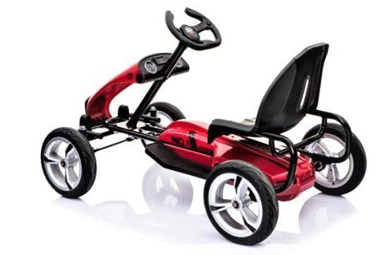 BIG BOY Elektrická motokára červená
