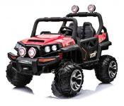 BIG BOY OFFROAD 4WD Dětské elektrické vozítko do terénu červené