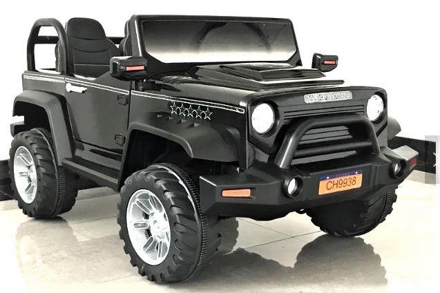 BIG BOY RC Jeep 4WD dětské elektrické vozítko černé