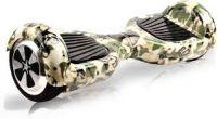 Hoverboard maskáčový zelený