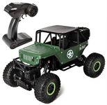 JEEP CLIMBER TRUCK 4WD 1:18 RTR vojenský horolezec a obránce v zelené