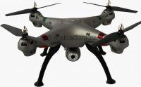 K800B WIFI 52cm nejhezčí dron na trhu s kamerou a online přenosem, stříbrno/černý