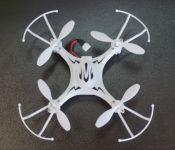 Koome Mini Dron Q3 Perfektní navenek i do místnosti, bílý