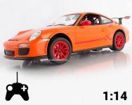 Porsche 911 GT3 RS 30cm na AA baterie, oranžové