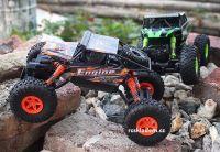 Rock Truck Crawler 2,4Gh, 28cm, do extrémního terénu, oranžová