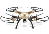 SYMA X8HC 49cm DRON S HD KAMEROU A FIXACÍ VÝŠKY 15 minut letu, zlatá