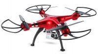 SYMA X8HG 49cm Velký dron s fixací výšky, červená