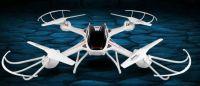 XXL Dron S3 58cm s HD kam. záznam na SD kartu 12 minut letu, bílý