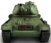 RC tank 1/16 T-34/85 kouř a zvuk. efekty střelba kuliček 2,4GHz