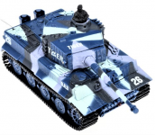 GWT Mini RC Tank TIGER 1/72, Military mimikry blue