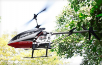 Obří vrtulník T-55 s protiběžnými rotory (71 cm!) a s VGA kamerou