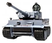 HENG LONG RC Tank 1:16 GERMAN TIGER 50cm kouř. a zvuk. efekty + kov.tunning 3818A