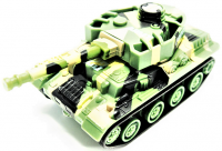 RC Tank Attack Power 1:72 Zelená