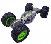 Hyper Active Carbon Stunt TRANSFORMUJÍCÍ 4WD RC off-road, zelená