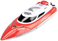 Nejúžasnější závodní loď 35km/h se svítícími světly a indikátorem dosahu až 200m, červená