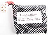 Baterie 9,6V 800mAh Li-ion-Fe RCskladem