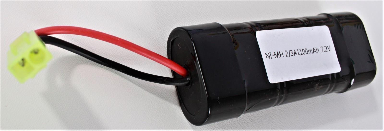 Baterie NI-MH 2/3A1100mAh 7,2V