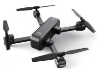 Dron X103W Kvadrokoptéra 5G WIFI FPV skládací a velmi stylový dron, šedočerný matný