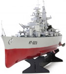 RC Loď bitevní HT-3827 Bismarck 2.4 Ghz, se šestisměrovým pohybem a světlem