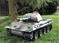 RC Tank 1/16 German Panther, kouř a zvuk. efekty