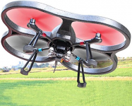 Dron Explorers 60,45 cm Full HD  kamerou a střídavými motory