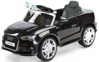 Dětské elektrické autíčko AUDI A3 se dvěma motory v černé barvě