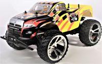 Big King-Run Offroad, Monster Truck 1:10, 42cm, excelentní v terénu, žlutý