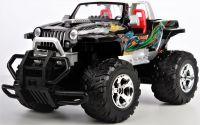 Jeep Wrangler Cabrio HURRICANE - krásný offroad pro každé dobrodružství a terénu, černá