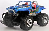 Jeep Wrangler Cabrio HURRICANE - krásný offroad pro každé dobrodružství a terén, stylová modrá