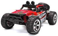 Nádherná Buggy Storm PRO Desert 45km/hod 4x4 41cm, která svítí a navíc s baterií navíc, červená