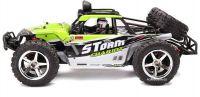 Nádherná Buggy Storm PRO Desert 45km/hod 4x4 41cm, která svítí a navíc s baterií navíc, zelená